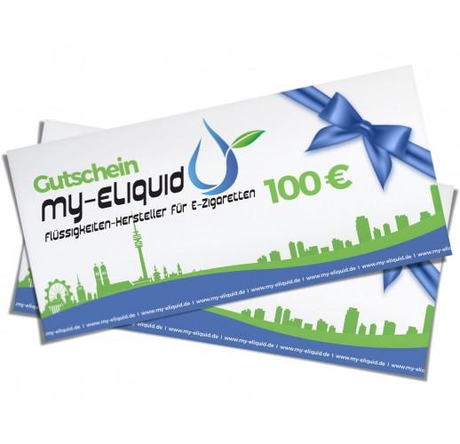 Geschenkgutschein 100 € - Zustellung postalisch