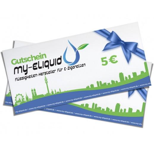 Dampfer Gutschein 5 € - Geschenkkarte