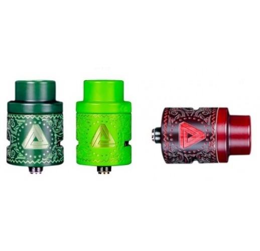 Limitless Mod Company Color Changer Atomizer RDA Rot und Grün