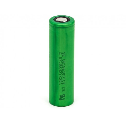 Sony Konion US18650VTC6 - 3120mAh - 30A Akku für E-Zigaretten