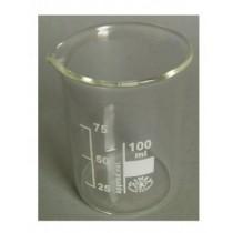 Becherglas Borosilikatglas 3 3 niedrige Form 100 ml mit Teilung und Ausguss