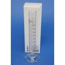 Messzylinder aus Glas 100ml hohe Form Klasse B Borosilikatglas