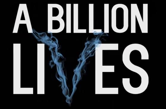 Kinofilm - A Billion Lives - Dampfen rettet Leben