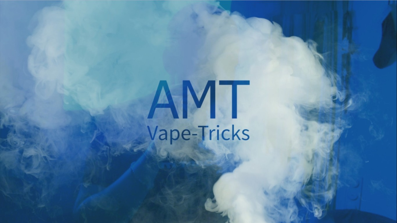 Crazy Vape Tricks with vapor | AMT-VAPE | Trick Vaping