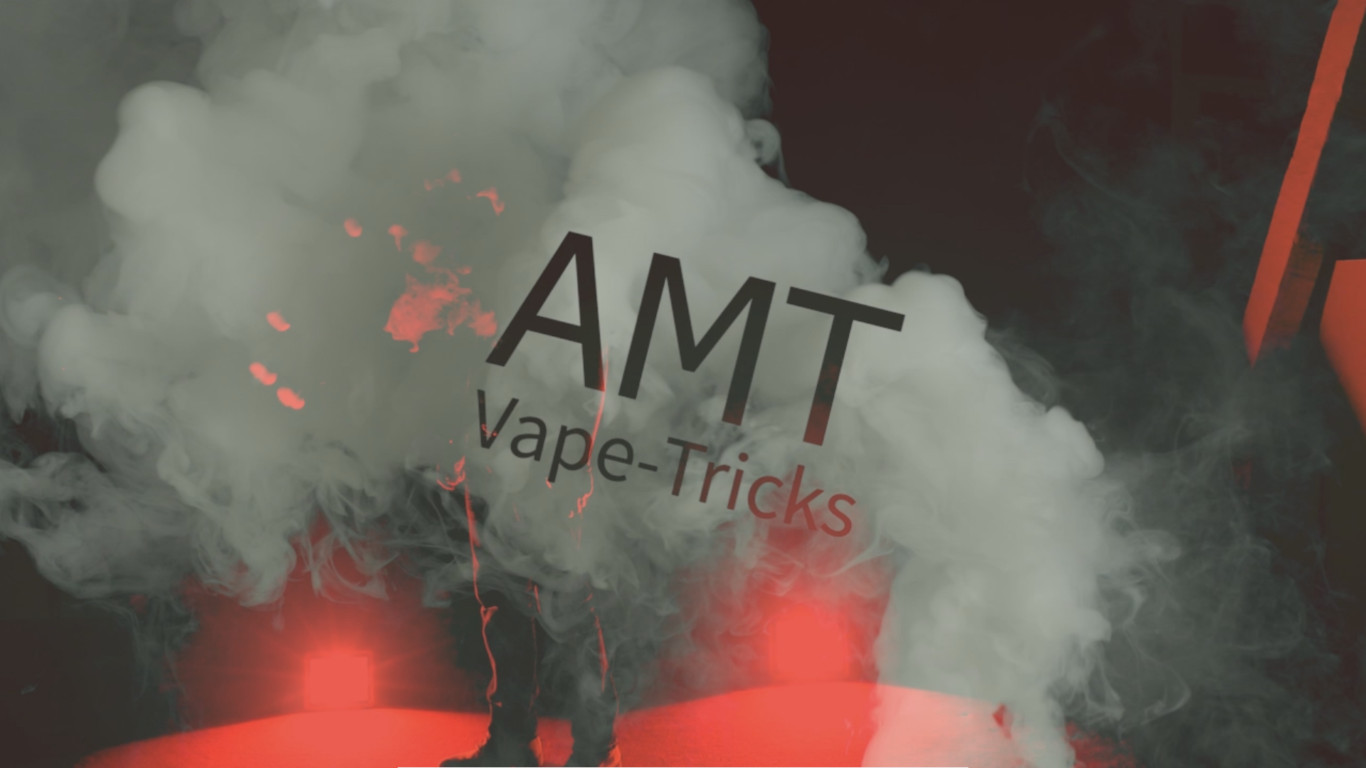 Dampfer Tricks - AMT-VAPE - Vape Tricks - AMT Logo