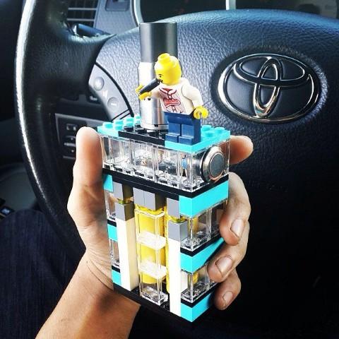 e-Zigaretten und Verdampfer Mods - Lego Gehäuse