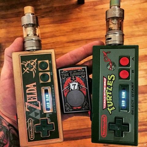 e-Zigaretten und Verdampfer Mods - Nintendo - Joypad