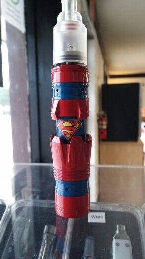 e-Zigaretten und Verdampfer Mod - Superman