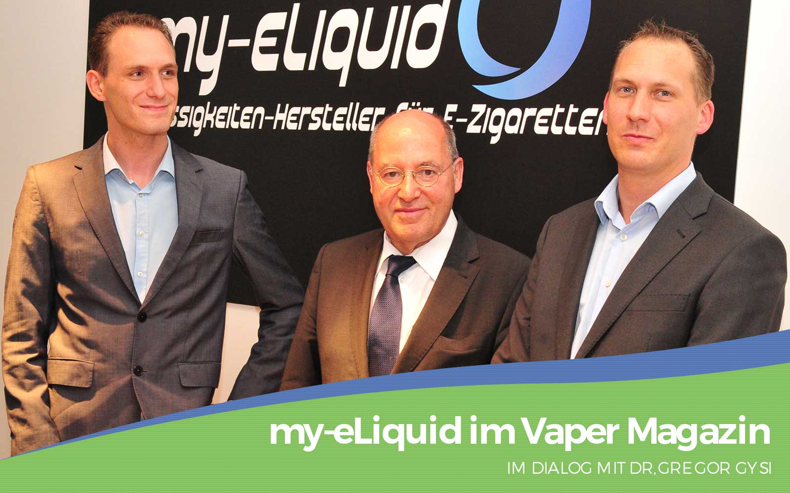 my-eLiquid | Dr.Gregor Gysi | Politik Dialog | Vaper Magazin