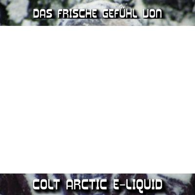 Gehirnfrost beim Dampfen weil Colt Arctic e-Liquid so kalt ist.
