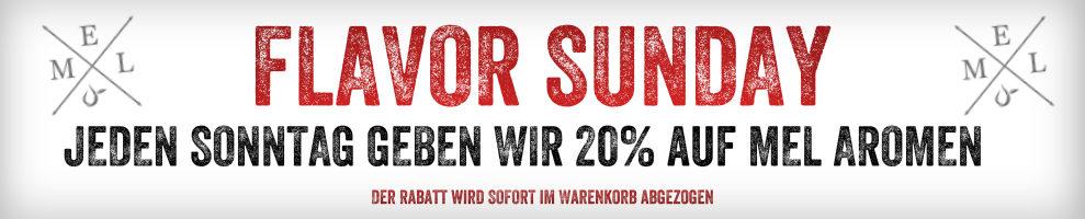 Sonntag Rabatt - 20% auf my-eLiquid Aromen