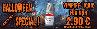Halloween Special Liquid Angebot
