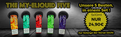 my-eLiquid Five Special Liquid Angebot