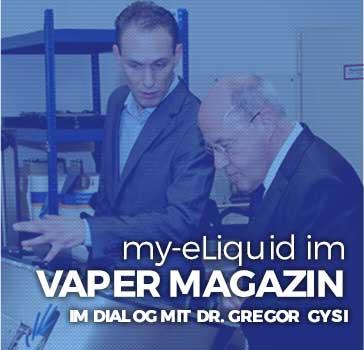 e-Zigarette und Dampfer Blog - Liquid News - my-eLiquid im Vaper Magazin