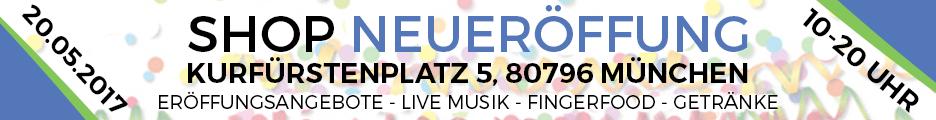Liquid und e-Zigaretten Shop am Kurfürstenplatz : Eröffnung